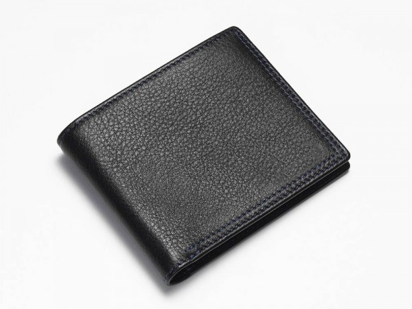 Black Bi-Fold Wallet Closed