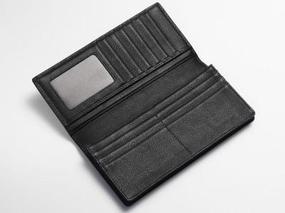 Inside breast wallet black
