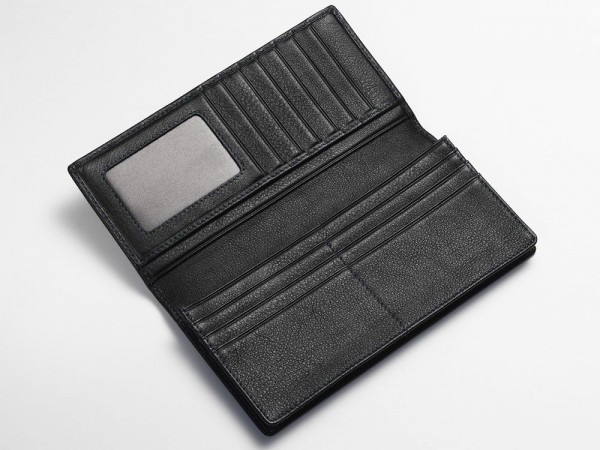 Inside breast wallet black
